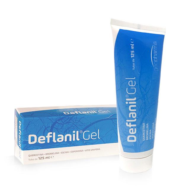 Deflanil gel 125 ml combatte stanchezza, pesantezza e gonfiore alle gambe